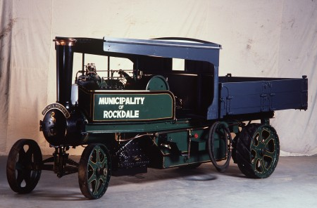 Photograph of Type FGR steam tip wagon
