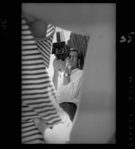 Portrait of Australian cinematographer, Mike Molloy, 1960s