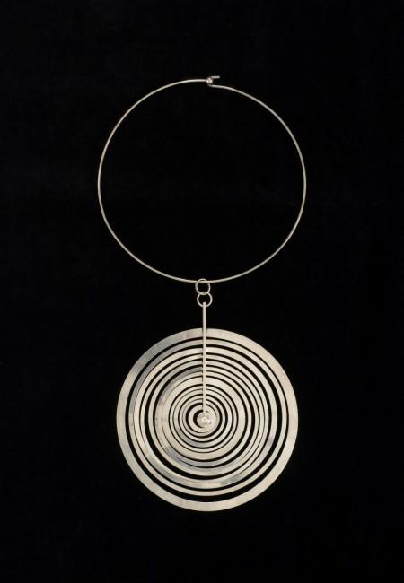 Neckpiece, 'Hopeakuu' by Nilo Westerback 1970
