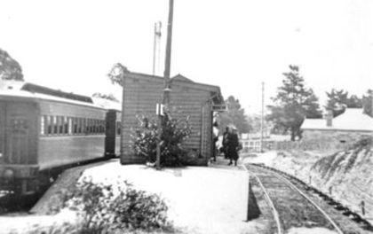 Baulkham Hills Railway Station c1926