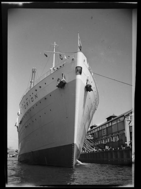 Photograph of Orion ship