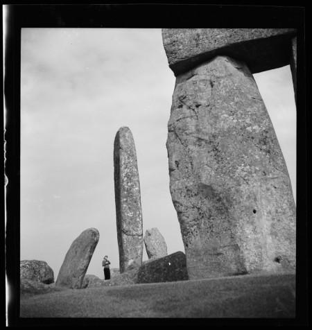 Photograph of Stonehenge 1936