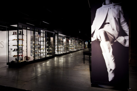 Photograph of fashion banners in RECOLLECT: Shoes