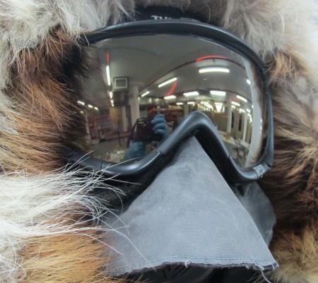 'Phenom Turbo Ignitor' ski goggles, 2012, MAAS collection