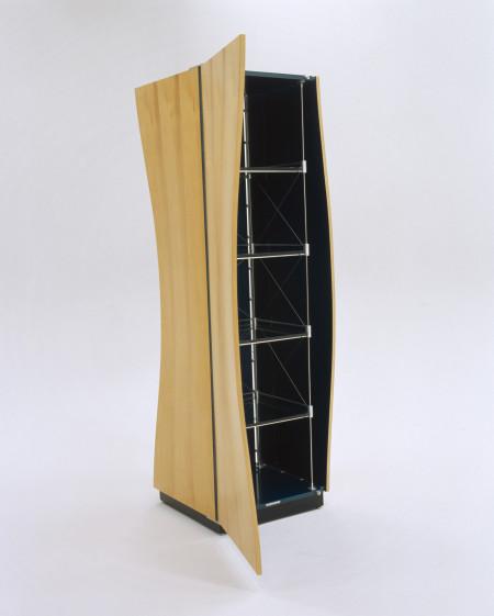 Photograph of cabinet, 'Marrawah Ripple - Malibu Swell', both designed and made by John Smith, Hobart, Tasmania, Australia, 2001