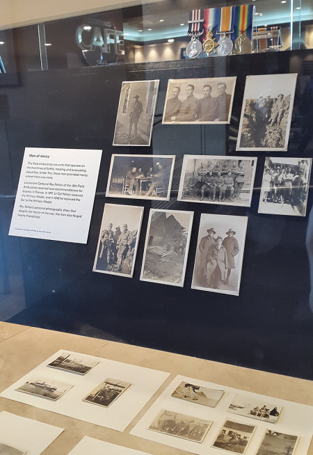 Felton Collection on display in Centenary of Anzac Exhibition at Castle Hill RSL 2015
