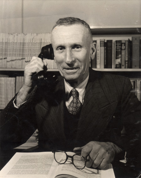 Arthur de Ramon Penfold, Director of the Technological Museum, Sydney at the time of Laseron's retirement.