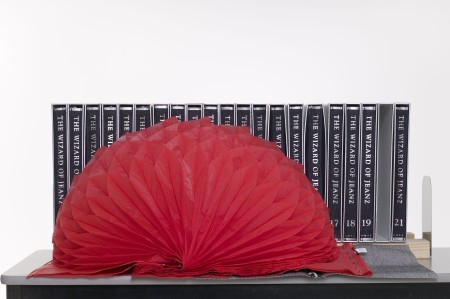 Wizard of Jeanz collection, books that transforms into garments, Hiroaki Ohya, Spring/Summer collection 2001, MAAS collection