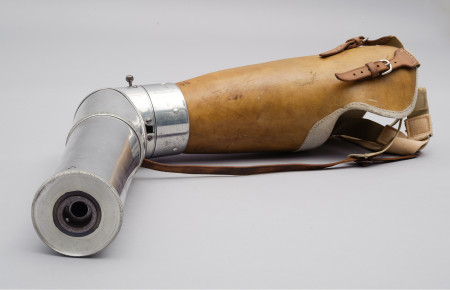 Photograph of Prosthetic arm, 1920, MAAS collection