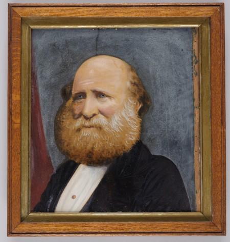 Portrait of William Sixsmith by Jacob Audet