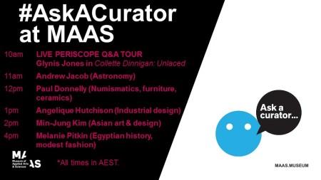 AskACurator at MAAS Poster