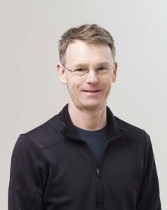 Portrait of Andrew Jacob, Curator.
