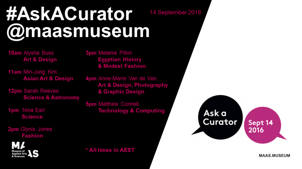 #Ask A Curator Poster