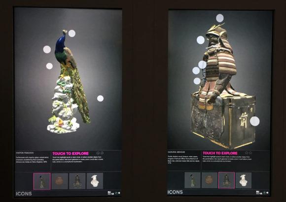 Photograph of 3D Interactive Touchscreens