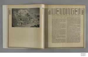 Detail of article inside 'Wendingen', Issue No.11 1921