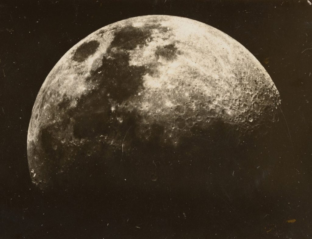 Photograph of the Moon 1899-1930.