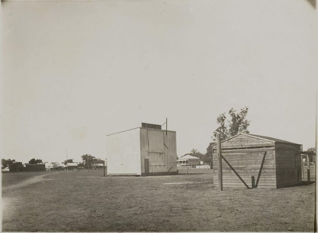 The temporary oservatory at Goondiwindi