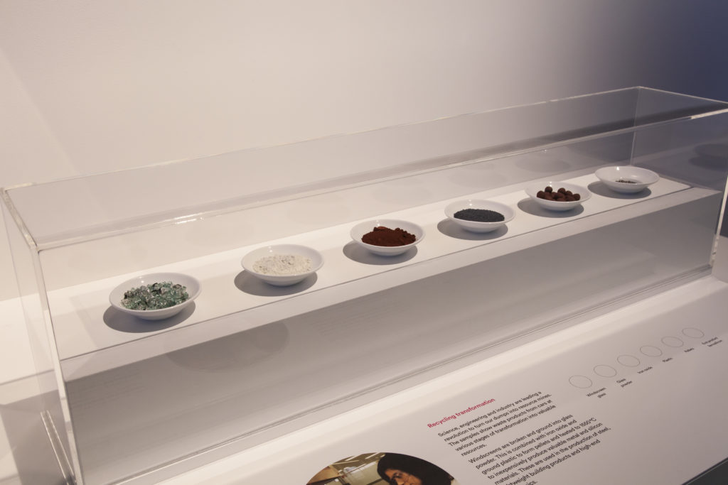 Detail of Green Materials Display