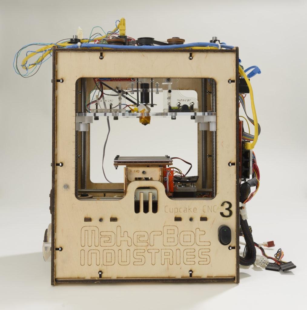 The Cupcake CNC 3D printer