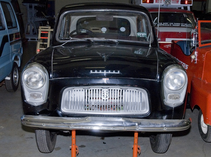 Roy Doring's 1959 Ford Prefect electric car