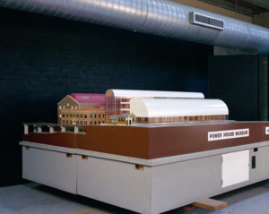 Model of Architect Lionel Glendenning's design for the Powerhouse Museum