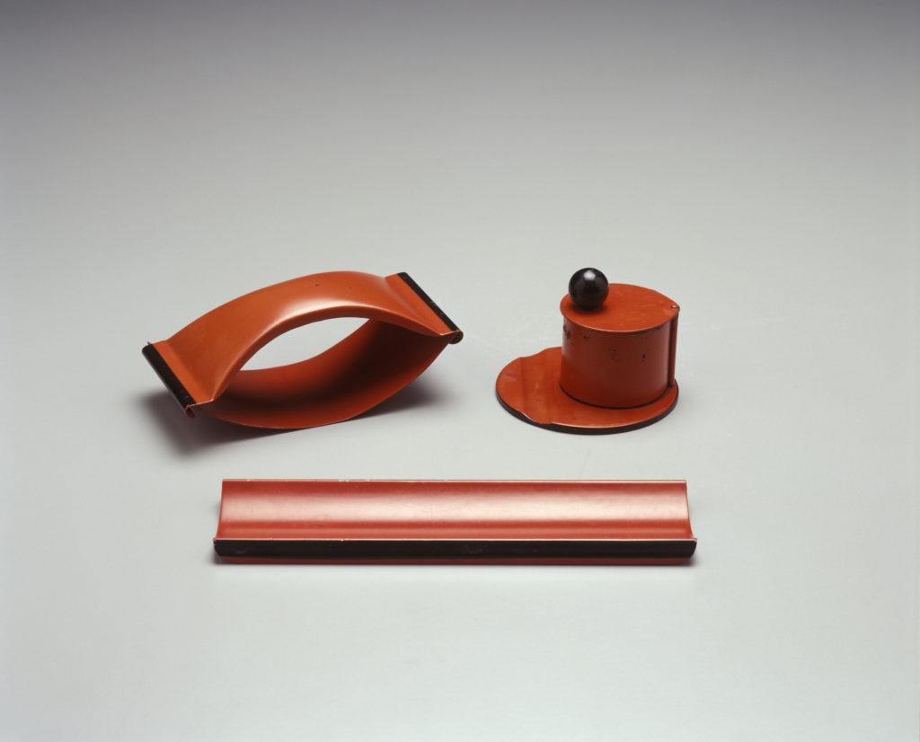 Desk set, designed by Marianne Brandt