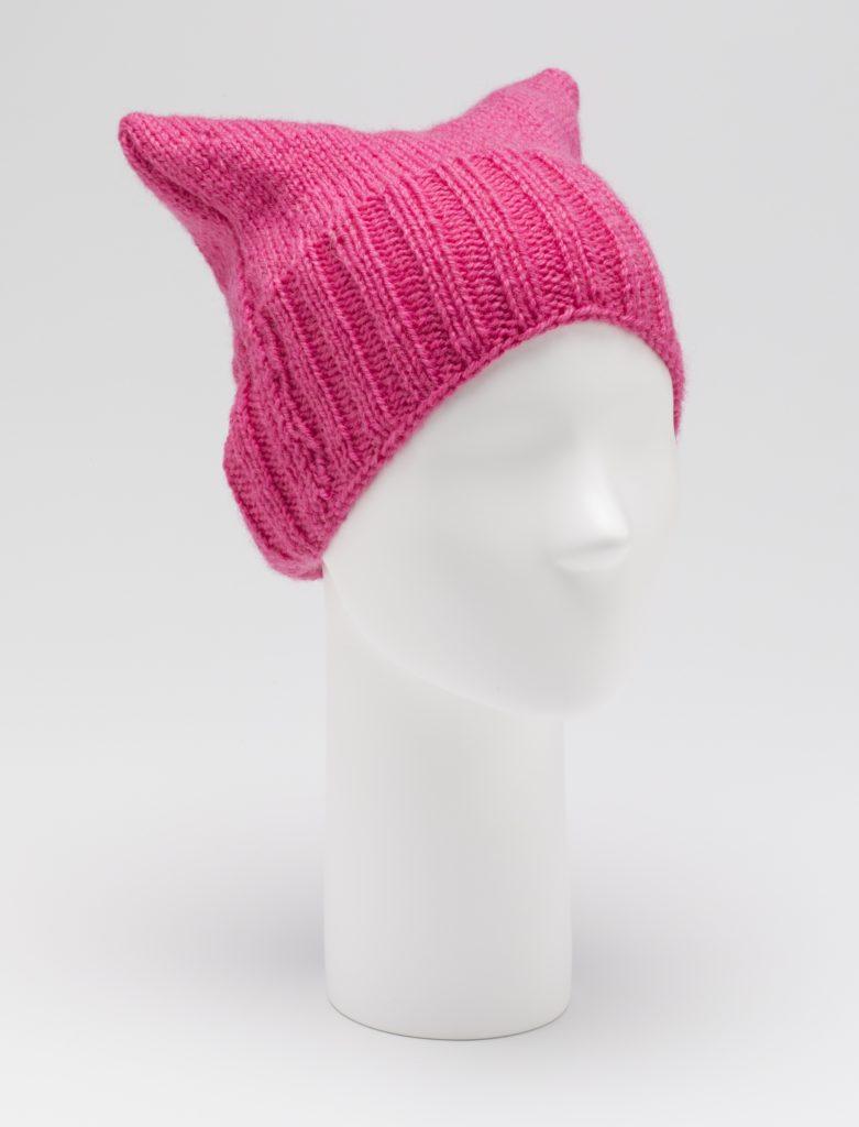 'Pussyhat', designed by Kat Coyle