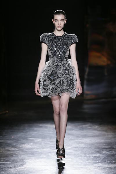 Dress, 'Lucid' designed and made by Iris van Herpen