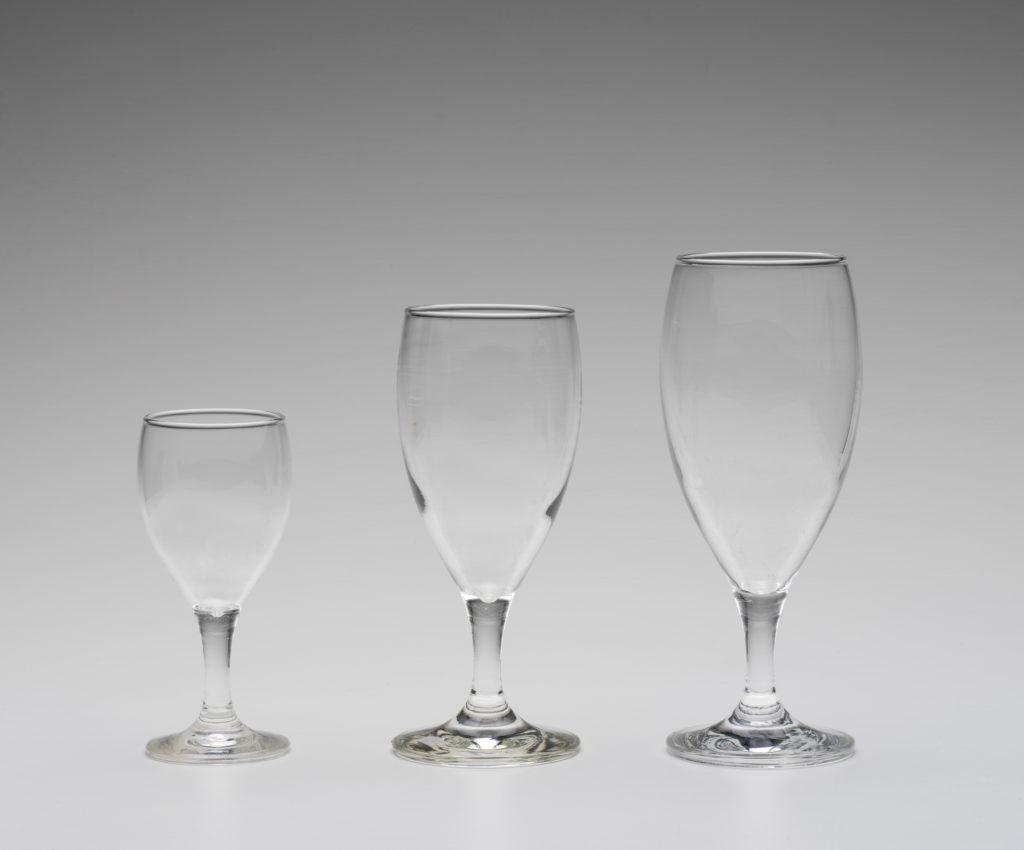 Wine glasses, 'Koenig', designed by Denise Larcombe