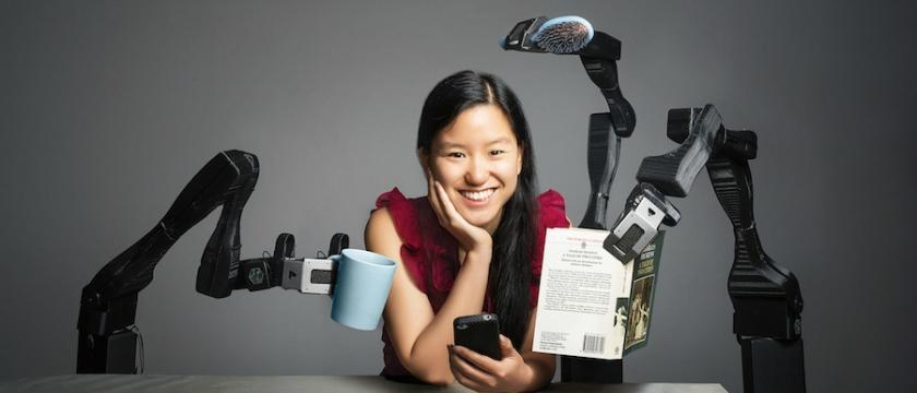 Photograph of Marita Cheng, founder of aubot