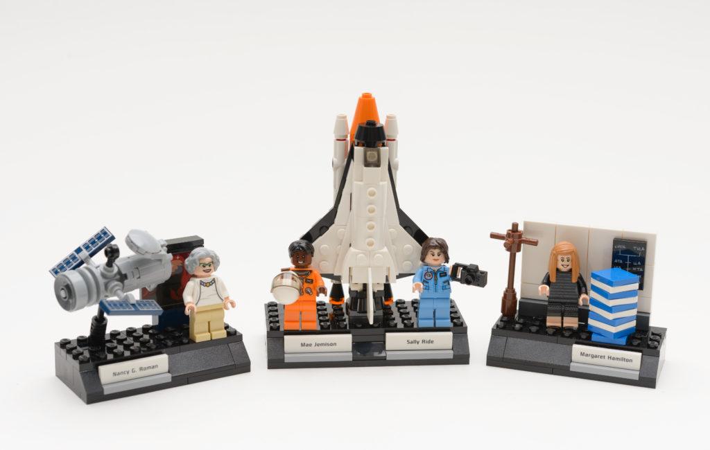 Women of NASA toy Lego set