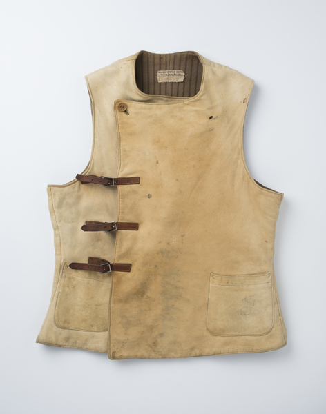 Front view of men's vest