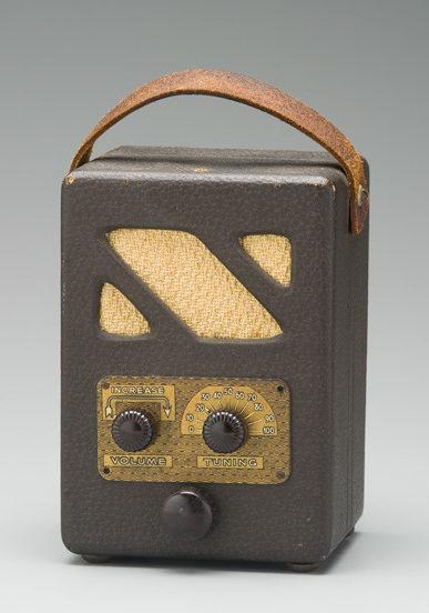 Photograph of The 'Handie Talkie' portable radio