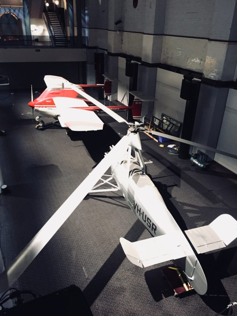 The dismantle and relocation of two of the museums large aircraft.