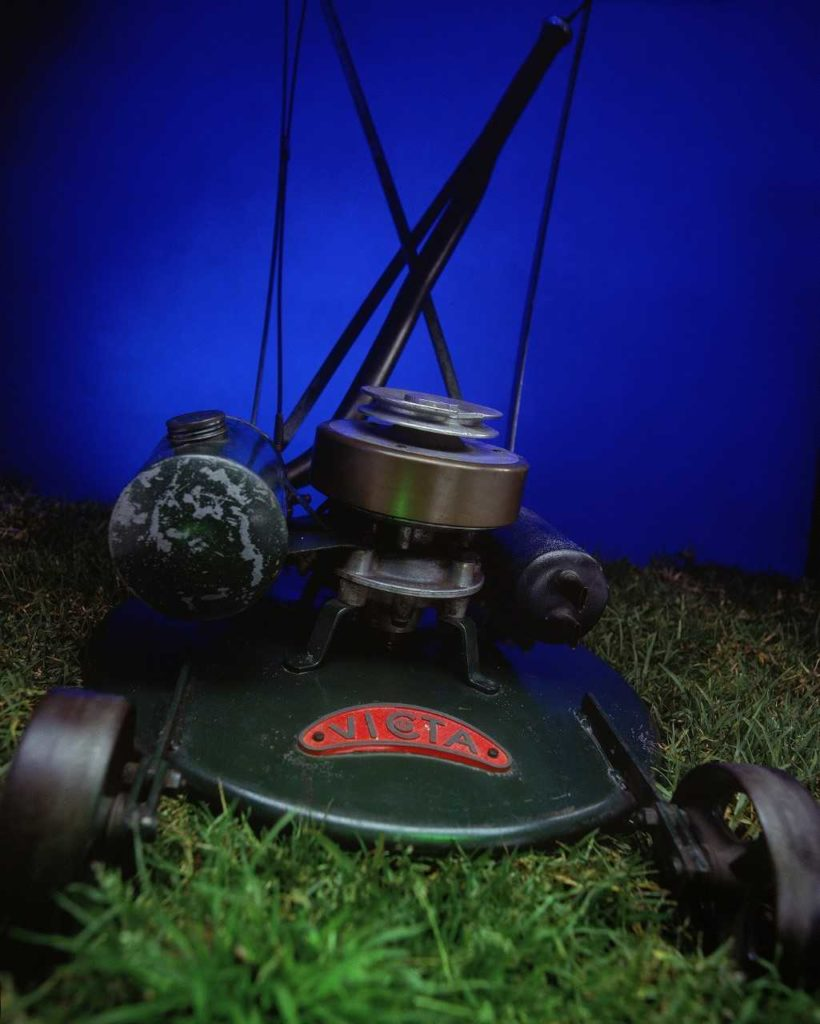 The first Victa lawn mower of 1953