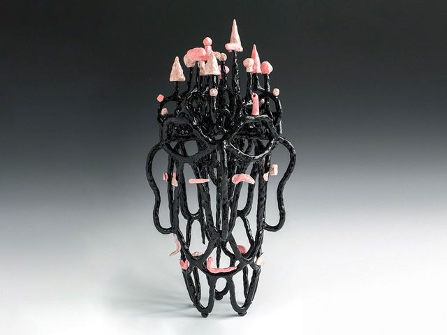 Lynda Draper, Night Portraits II, glazed ceramic, 2020. Image: Lynda Draper. Courtesy of sullivan+strumpf
