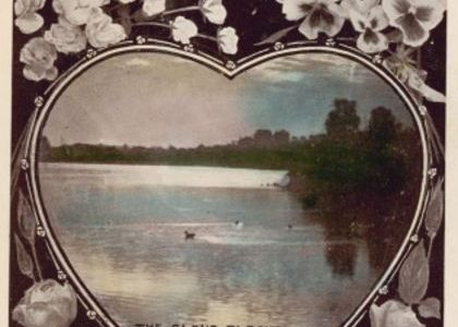 Valentine's Day Card, posted to Linda Hall, New South Wales, 1910
