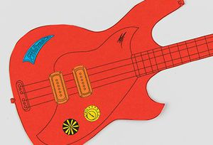 Make at home activity, Powerhouse Museum, design a guitar